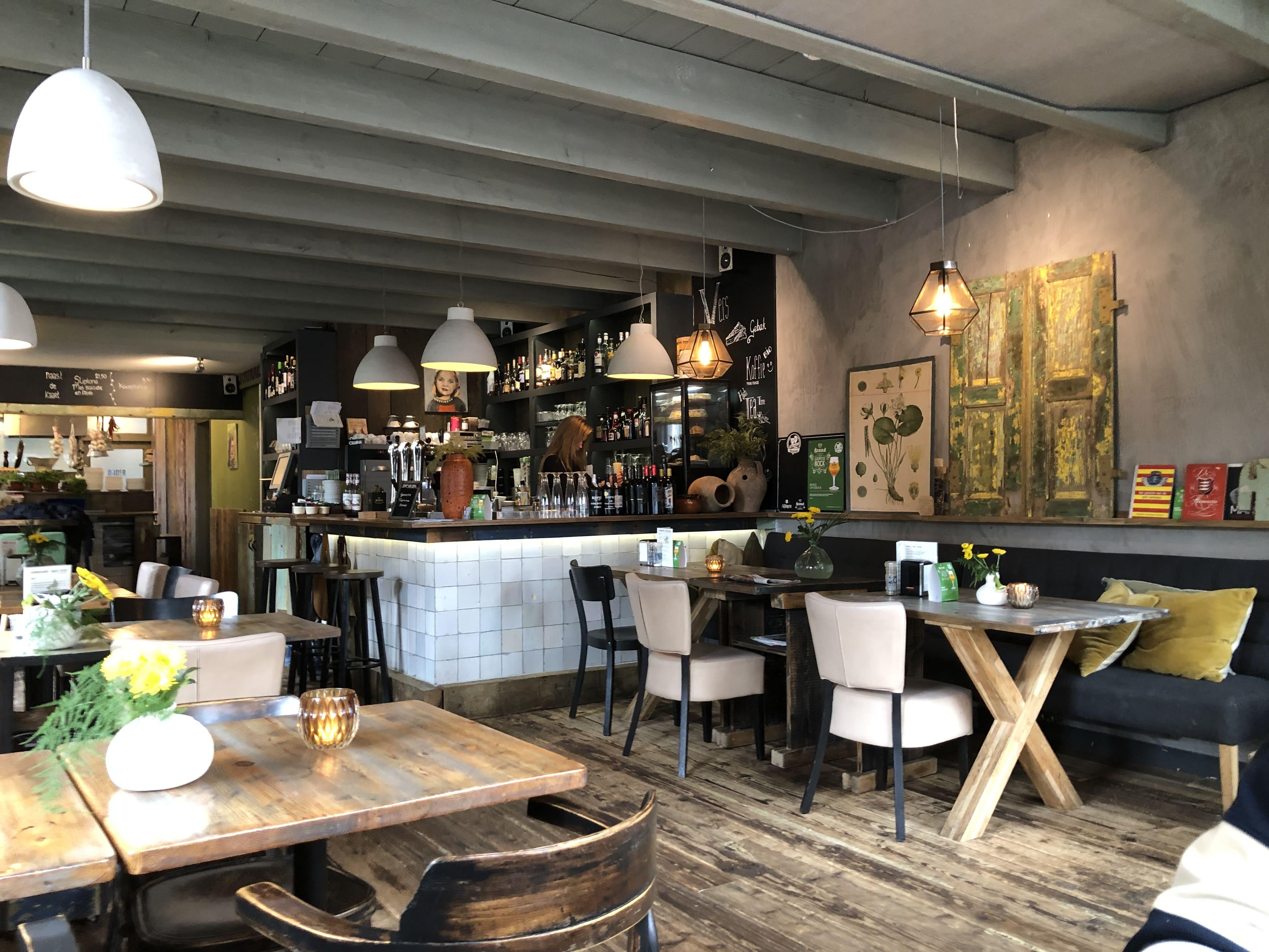 Café in Enkhuizen